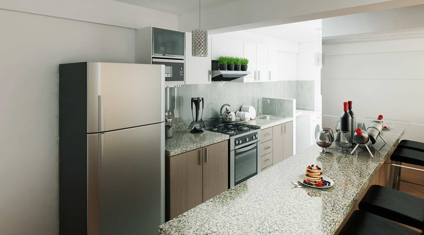 novorio ms inmobiliaria kitchenette